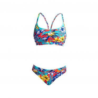 Funkita Aloha from Hawaii Sports Bikini Set Damen
