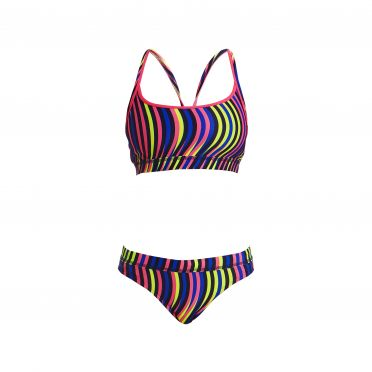 Funkita Squiggle piggle Sports Bikini Set Damen