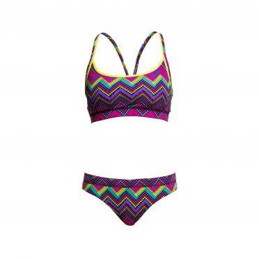 Funkita Knitty gritty Sports Bikini Set Damen
