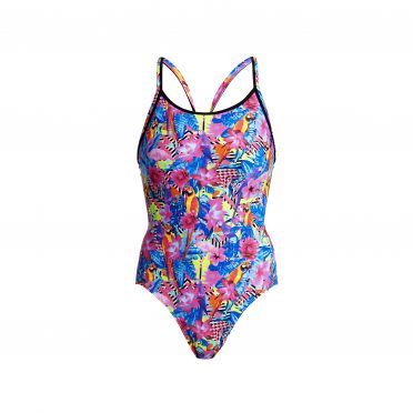 Funkita Club tropo Diamond Back Badeanzug Damen