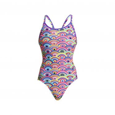 Funkita Eye candy Diamond Back Badeanzug Damen