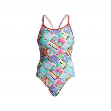 Funkita Street view Diamond Back Badeanzug Damen