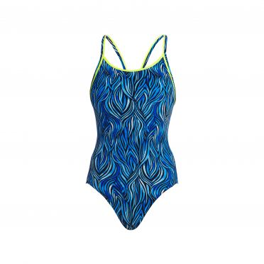 Funkita Wild hide Diamond Back Badeanzug Damen