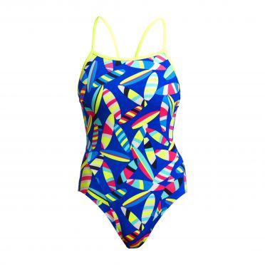 Funkita Board Bash Single Strap Badeanzug Damen