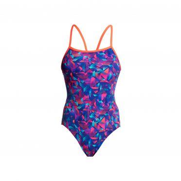 Funkita Tech Suit Single Strap Badeanzug Damen