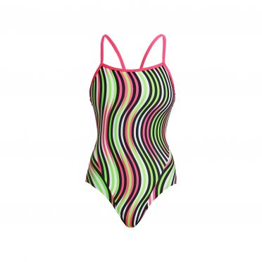 Funkita Tumble turn Single Strap Badeanzug Damen