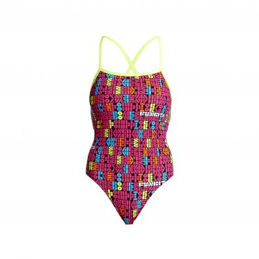 Funkita Code breaker Strapped In Badeanzug Damen
