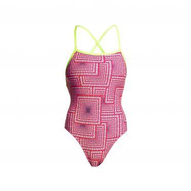 Funkita swim spin Strapped In Badeanzug Damen