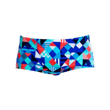 Funky Trunks Check republic Classic trunk Badehose Herren