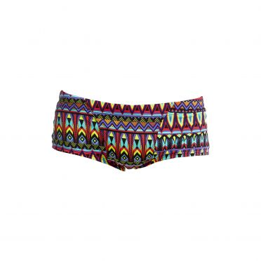 Funky Trunks Fire tribe Classic trunk Badehose Herren