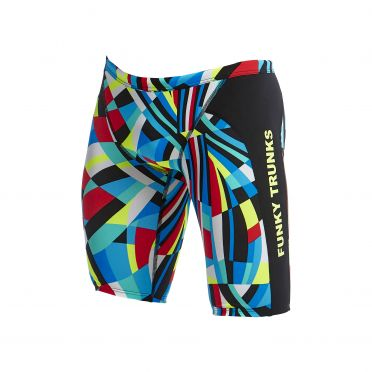 Funky Trunks Block chain Training jammer Badehose