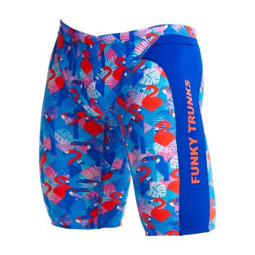 Funky Trunks Flaming Vegas Training jammer Badehose