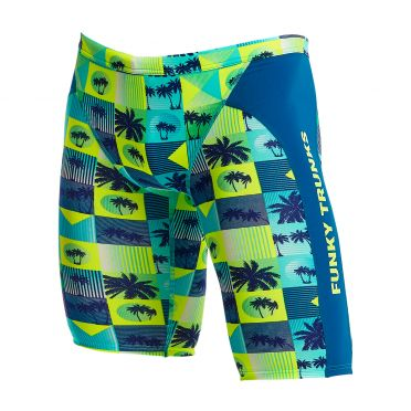 Funky Trunks Pop Tropo Training jammer Badehose