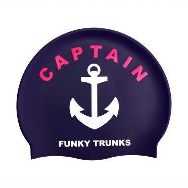 Funky Trunks Silikon Badekappe Captain Funky