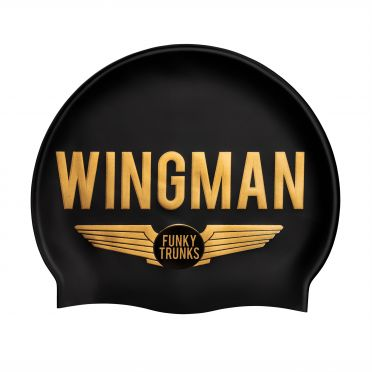 Funky Trunks Silikon Badekappe Wingman