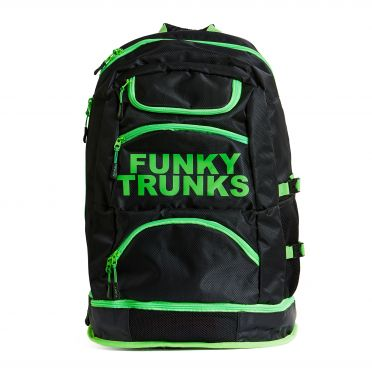 Funky Trunks Elite Schwimmtasche Lime light