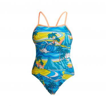 Funkita Summer Bay Single Strap Badeanzug Damen