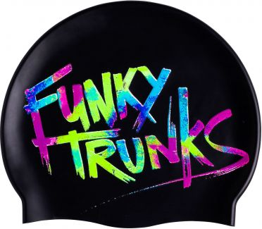 Funky Trunks Silikon Badekappe Trunk Tag