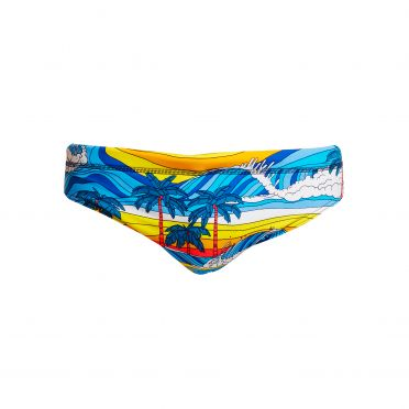 Funky Trunks Beach Bum Classic brief Badehose Herren