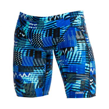 Funky Trunks Electric Nights Training jammer Badehose Herren