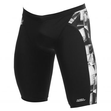 Funky Trunks Black Tint Training jammer Badehose Herren