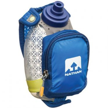 Nathan Quickshot plus insulated Handflaschen Blau