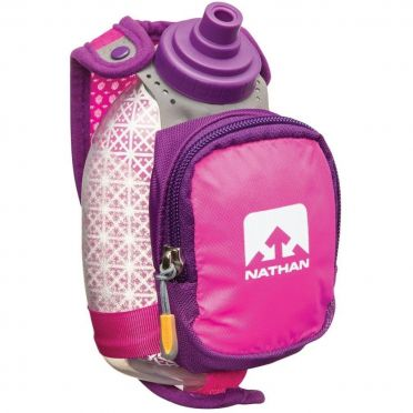 Nathan Quickshot plus insulated Handflaschen Rosa