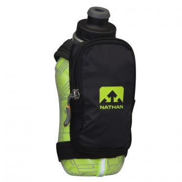 Nathan SpeedShot plus insulated Handflaschen Grün/Schwarz