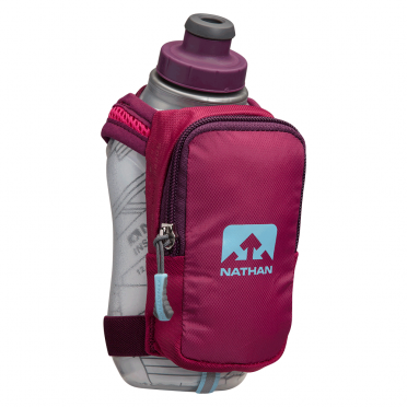 Nathan SpeedShot plus insulated Handflaschen Rosa