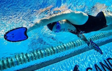Schwimmpaddels