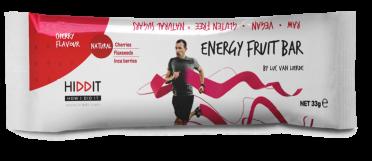Hiddit Energy Fruchtriegel Kirschen 12x33g