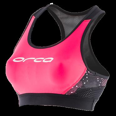 Orca Core Support Bra Rosa/Schwarz Damen
