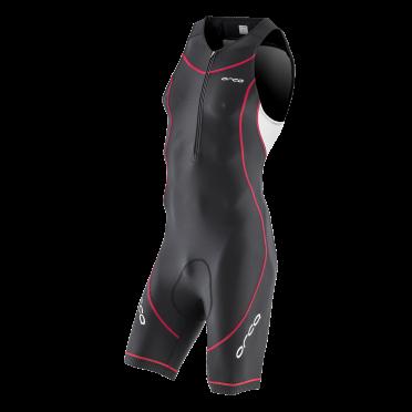 Orca Core basic race trisuit Schwarz/Weiß/Rot Herren