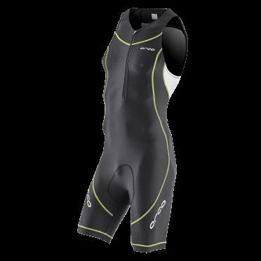 Orca Core basic race trisuit Schwarz/Weiß/Gelb Herren