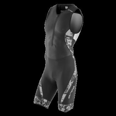 Orca 226 Kompress race trisuit ärmellos Schwarz Herren
