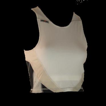 Ironman Tri top ärmellos Extreme Weiß/Schwarz Damen