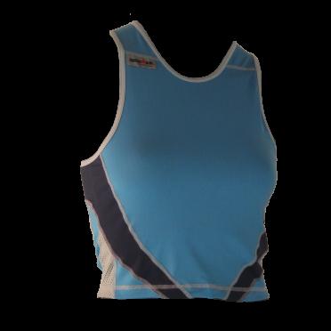 Ironman Tri top ärmellos Extreme 360 Blau Damen