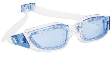 Aqua Sphere Kameleon blaue Linse Schwimmbrille Silber/Blau