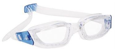 Aqua Sphere Kameleon klare Linse Schwimmbrille Silber/Blau