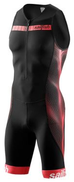 Sailfish Competition Trisuit Schwarz/Rot Herren
