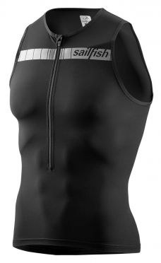 Sailfish Competition Tri top Schwarz Herren