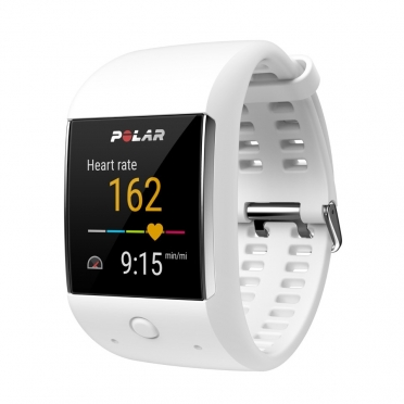 Polar M600 Sportuhr Weiß GPS