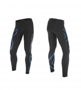 2XU Hyoptik Compression Tights Schwarz/Blau Herren
