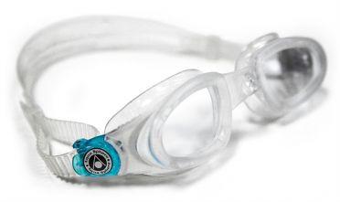 Aqua Sphere Mako klare Linse Schwimmbrille Silber