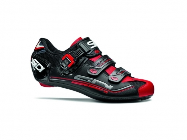 Sidi Genius 7 Rennradschuh Schwarz/Rot Herren