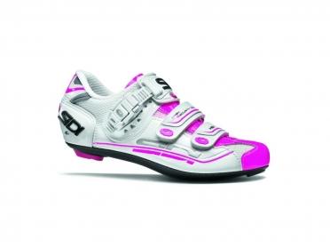 Sidi Genius 7 Rennradschuh Weiß/Rosa Damen