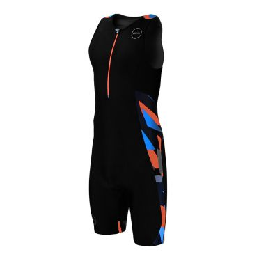 Zone3 Activate Plus Ärmellos Trisuit Midnight camo Herren