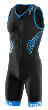 Sailfish Competition Trisuit Schwarz-Blau Herren 2018