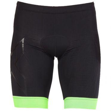 2XU Compression Tri shorts Schwarz/Grün Herren