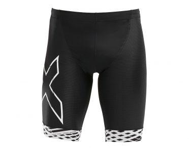 2XU Compression Tri shorts Schwarz/Weiß Herren